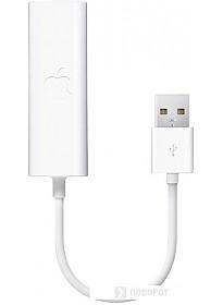Сетевой адаптер Apple USB Ethernet Adapter (MC704ZM/A)