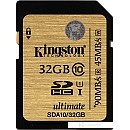 Карта памяти Kingston SDHC Ultimate UHS-I U1 (Class 10) 32GB (SDA10/32GB) фото и картинки на Povorot.by
