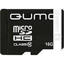 Карта памяти QUMO microSDHC (Class 10) 16GB (QM16GMICSDHC10) фото и картинки на Povorot.by