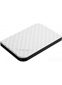 Внешний жесткий диск Verbatim Store 'n' Go USB 3.0 1TB Белый [53206]