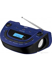 Портативная аудиосистема BBK BS07BT (темно-синий)