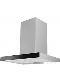 Кухонная вытяжка Ciarko Quatro Black Slim 60 inox (1100 куб. м/ч)