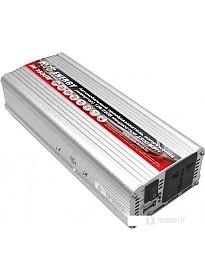 Автомобильный инвертор AVS 12/220V IN-1500W