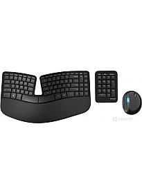 Мышь + клавиатура Microsoft Sculpt Ergonomic Desktop (L5V-00017)