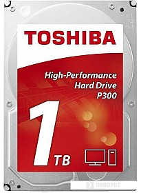 Жесткий диск Toshiba P300 1TB [HDWD110EZSTA]