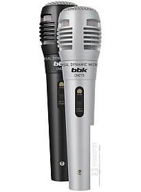 Микрофон BBK CM215 (черный+серебристый)