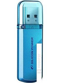 USB Flash Silicon-Power Helios 101 8 Гб SP008GBUF2101V1B (синий)