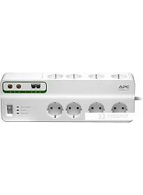 Сетевой фильтр APC Performance SurgeArrest 8 розеток, белый (PMF83VT-RS)