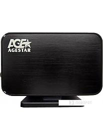 Бокс для жесткого диска AgeStar 3UB3A8-6G Black