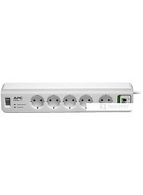 Сетевой фильтр APC Essential SurgeArrest 5 розеток, белый (PM5T-RS)