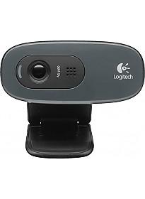 Web камера Logitech HD Webcam C270 черный [960-001063]