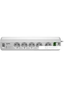 Сетевой фильтр APC Essential SurgeArrest 5 розеток, белый (PM5U-RS)