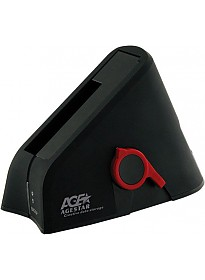 Бокс для жесткого диска AgeStar 3UBT Black