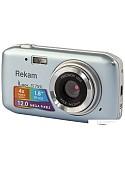 Фотоаппарат Rekam iLook S755i (серый металлик)