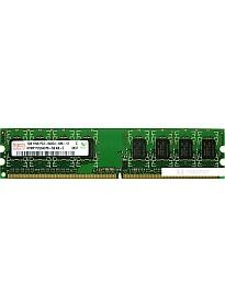 Оперативная память Hynix DDR2 PC2-6400 1 Гб (HYMP112U64CP8-S6)