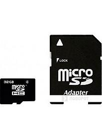 Карта памяти Smart Buy microSDHC (Class 4) 32 Гб (SB32GBSDCL4-00)