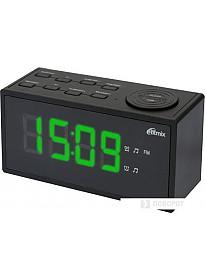 Радиочасы Ritmix RRC-1212 (черный)