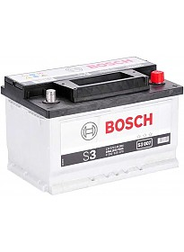 Автомобильный аккумулятор Bosch S3 007 (570144064) 70 А/ч