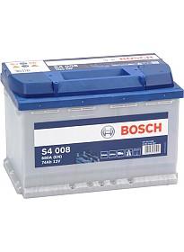 Автомобильный аккумулятор Bosch S4 008 (574012068) 74 А/ч