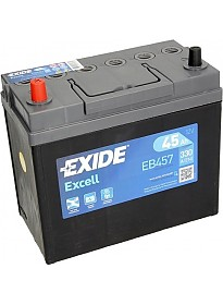 Автомобильный аккумулятор Exide Excell EB457 (45 А/ч)