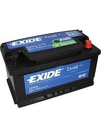 Автомобильный аккумулятор Exide Excell EB802 (80 А/ч)
