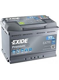 Автомобильный аккумулятор Exide Premium EA770 (77 А/ч)