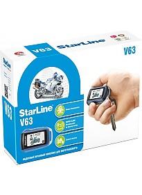 Автосигнализация StarLine V63