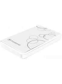 Внешний жесткий диск Transcend StoreJet 25A3 2TB White (TS2TSJ25A3W)