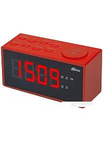 Радиочасы Ritmix RRC-1212 (красный)
