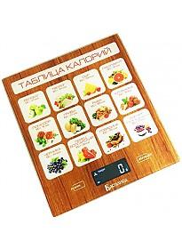 Кухонные весы Василиса ВА-003 (таблица калорий)
