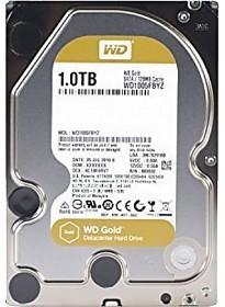Жесткий диск WD WD Gold 1TB [WD1005FBYZ]
