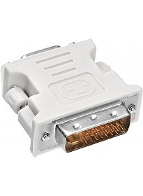 Адаптер Buro DVI-I(m)/VGA HD15 (f)