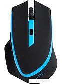 Мышь Oklick 630LW Wireless Optical Mouse Black/Blue (923003)