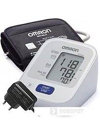 Тонометр Omron M2 Basic [HEM-7121-ALRU]