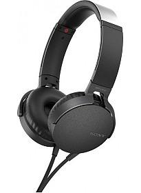 Наушники Sony MDR-XB550AP (черный)
