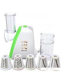 Кухонный комбайн Kitfort KT-1318-3 (зеленый)