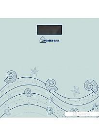 Напольные весы HomeStar HS-6001B (нежно-голубой) [002957]