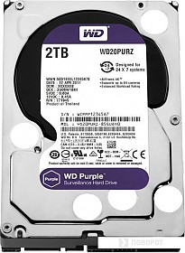 Жесткий диск WD Purple 2TB [WD20PURZ]