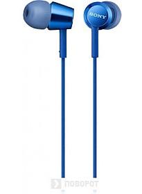 Наушники Sony MDR-EX155AP (синий)
