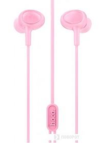 Наушники Hoco M3 (розовый)