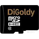 Карта памяти DiGoldy microSD (Class 10) 8GB [DG008GCSDHC10-W/A-AD] фото и картинки на Povorot.by
