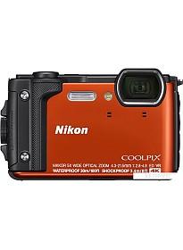 Фотоаппарат Nikon Coolpix W300 (красный)