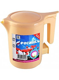Чайник Росинка ЭЧ-0.5/0.5-220 (бежевый)