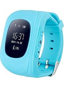 Умные часы Smart Baby Watch Q50 (синий)