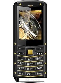 Мобильный телефон TeXet TM-520R (черный-золотистый)