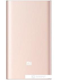 Портативное зарядное устройство Xiaomi Mi Power Bank Pro 10000 mAh (розовое золото)