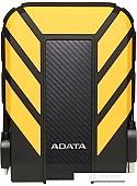 Внешний жесткий диск A-Data HD710P 2TB (желтый)