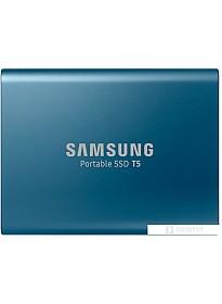 Внешний жесткий диск Samsung T5 500GB (синий)