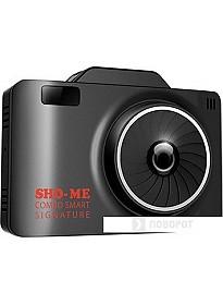 Радар-детектор Sho-Me Combo Smart Signature (с видеорегистратором)