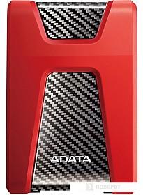 Внешний жесткий диск A-Data DashDrive Durable HD650 2TB (красный)